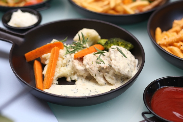 Lemon Chicken Is Another Fantastic Option To Try Marinated Chicken Cooked In Creamy Sauce Served With Luscious Mash Potatoes And Sauteed Veggies Is A